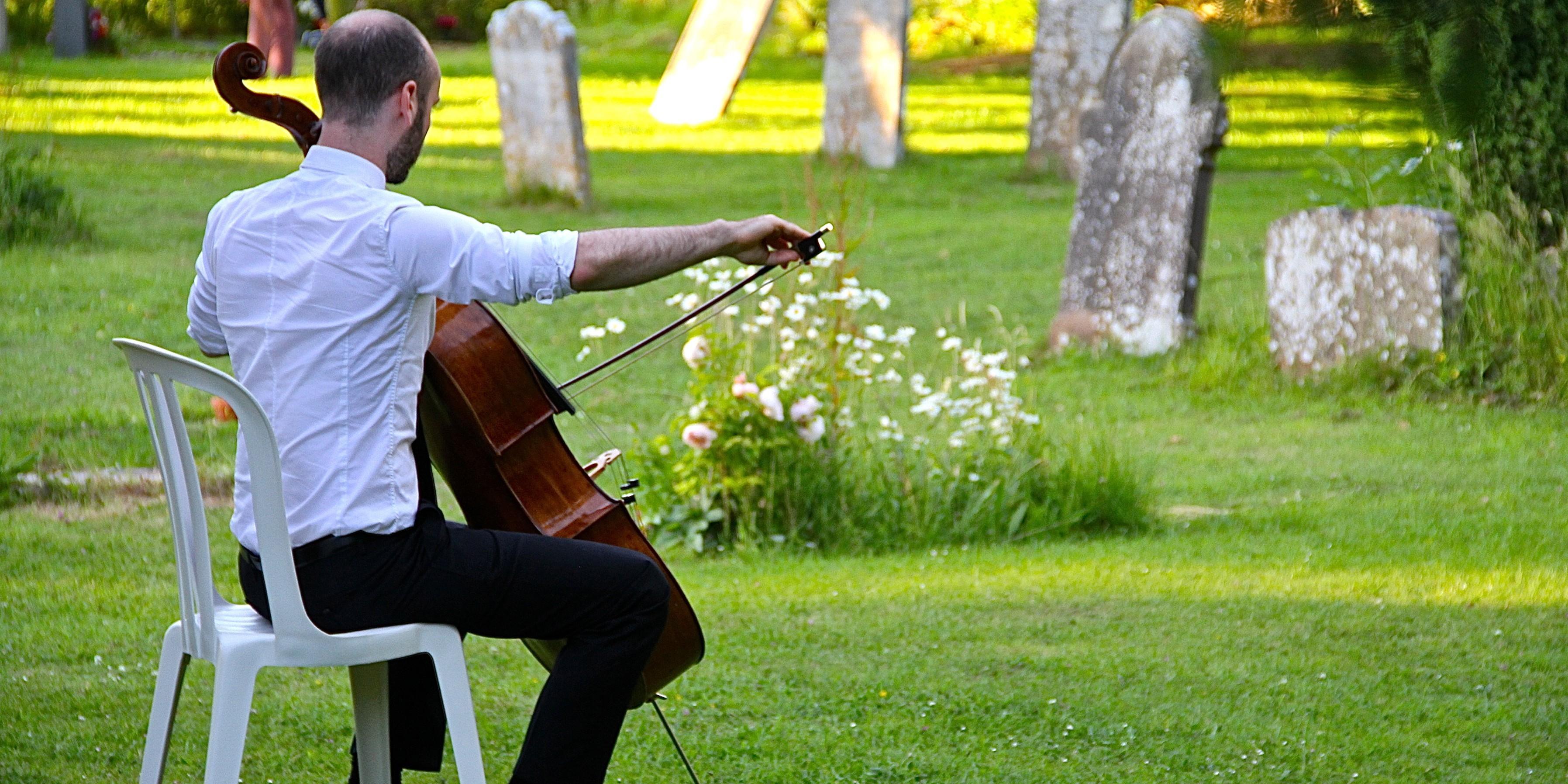 Jakob practising