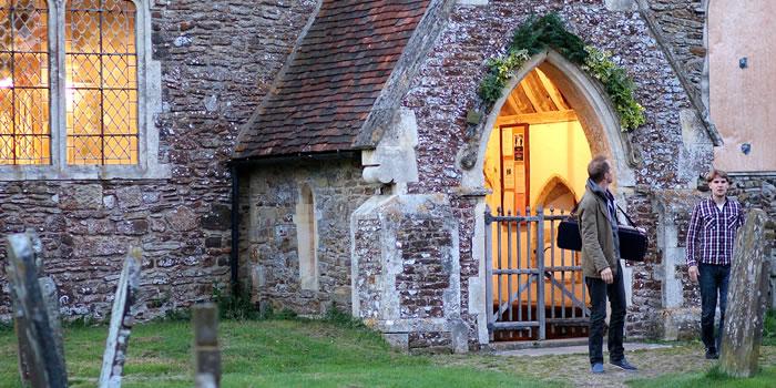 Peasmarsh Church Porch